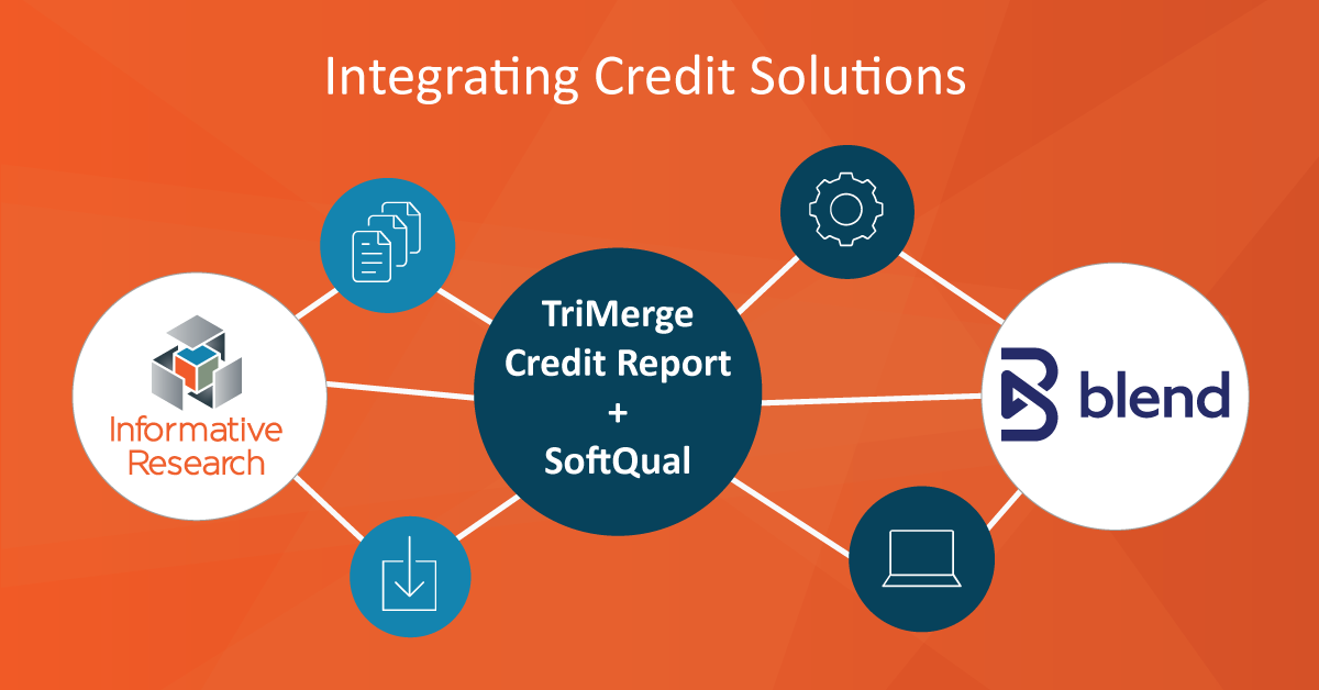 Informative Research Integrates Their Flagship Credit Solutions with Blend