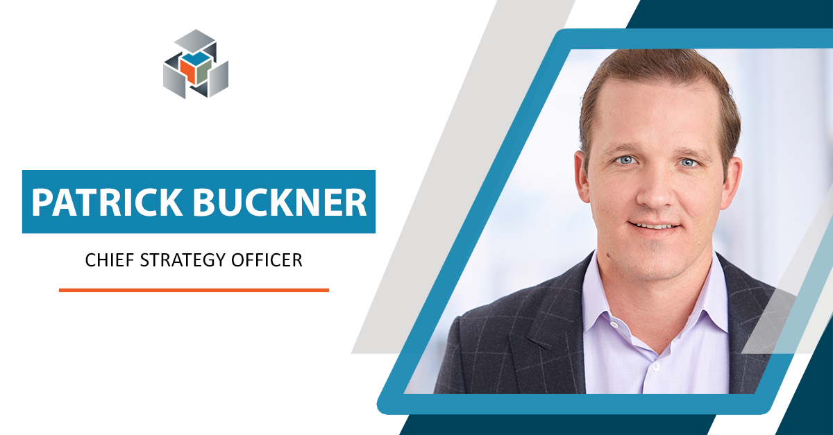 Patrick Buckner as Informative Research's new Chief Strategy Officer